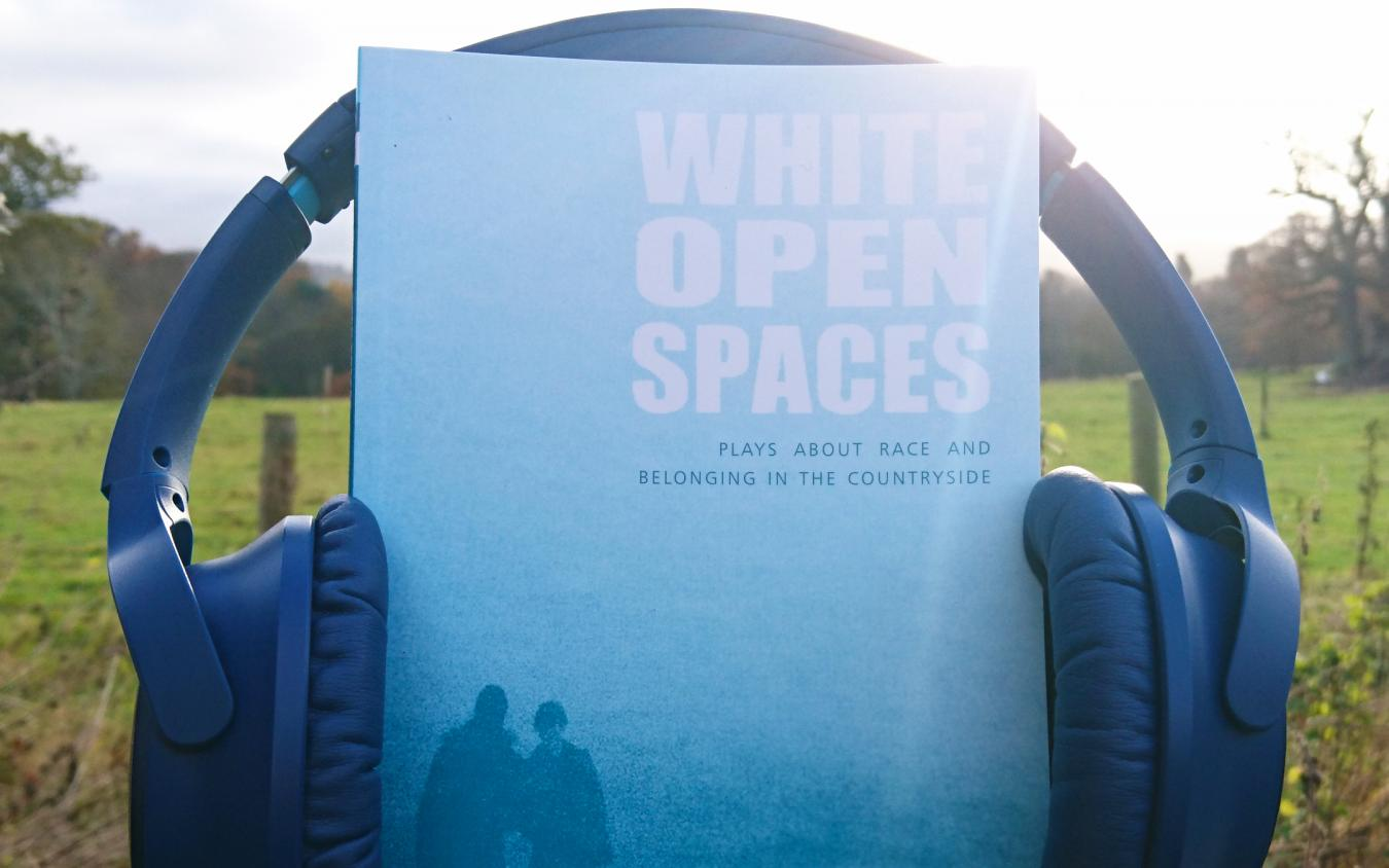 White Open Spaces Playtext